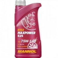 MANNOL Maxpower 4x4 GL-5 75W140   1L