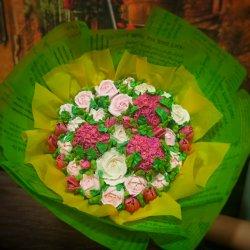 ХИТ! Букеты из зефирных цветов