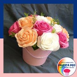 Композиция из 15 роз