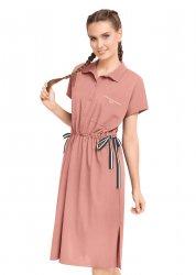 Платье LDR21-895 розовый