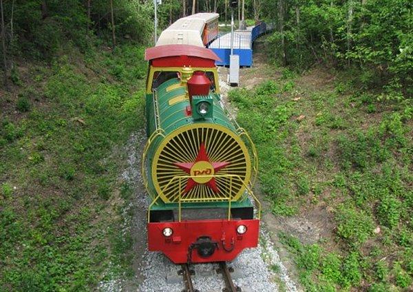 Путешествие в мир железной дороги!