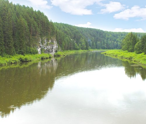Экскурсия по реке Чусовой