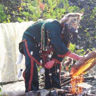 В гости к  шаману