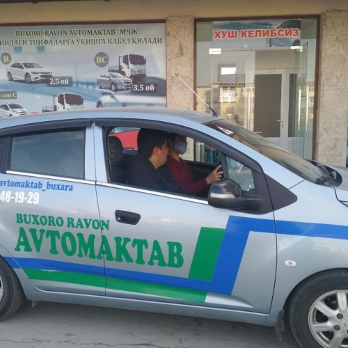 BUXORO RAVON AVTOMAKTAB