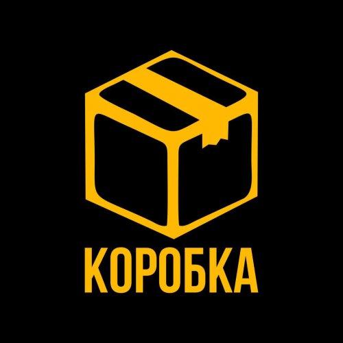 логотип компании КОРОБКА