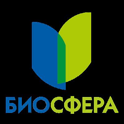 """логотип компании """"Биосфера"""", сеть аптек"""