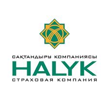 """логотип компании """"Халык"""", страховая компания"""