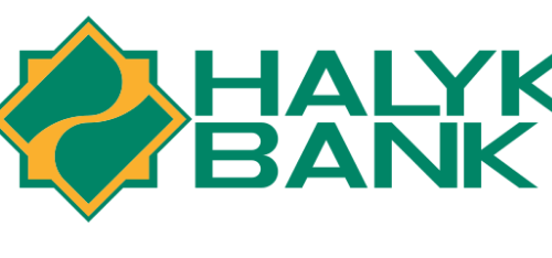 """логотип компании """"Halyk Bank"""""""