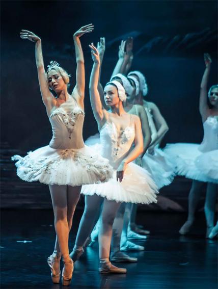 Балет Лебединое озеро театр Moscow State Ballet, Сочи