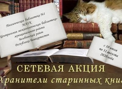 «Хранители старинных книг»