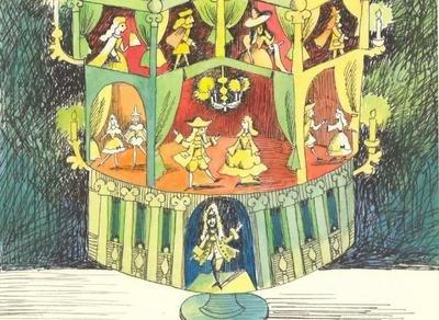 Выставка иллюстраций к произведениям Э.Т.А. Гофмана. К 24...