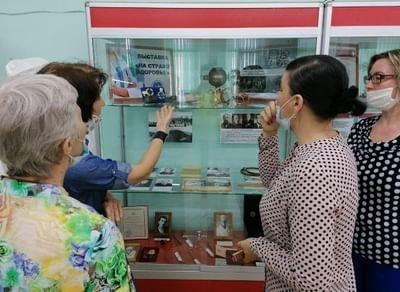 Выставка «Настраже здоровья»