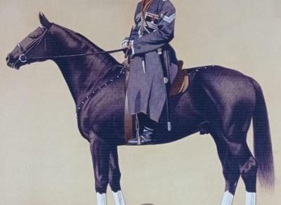 «Осетины влейб-гвардии Собственном Его Императорского...