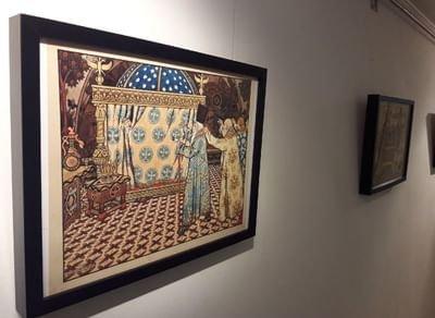 Выставка «Иллюстрации кпроизведениям А.С.Пушкина»