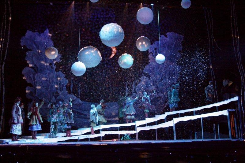 Мюзикл «Ночь перед Рождеством» КРАСНОЯРСКИЙ МУЗЫКАЛЬНЫЙ ТЕАТР,