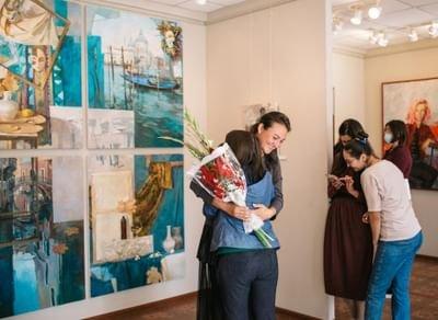 «Персональная выставка художника Анастасии Межовой»,