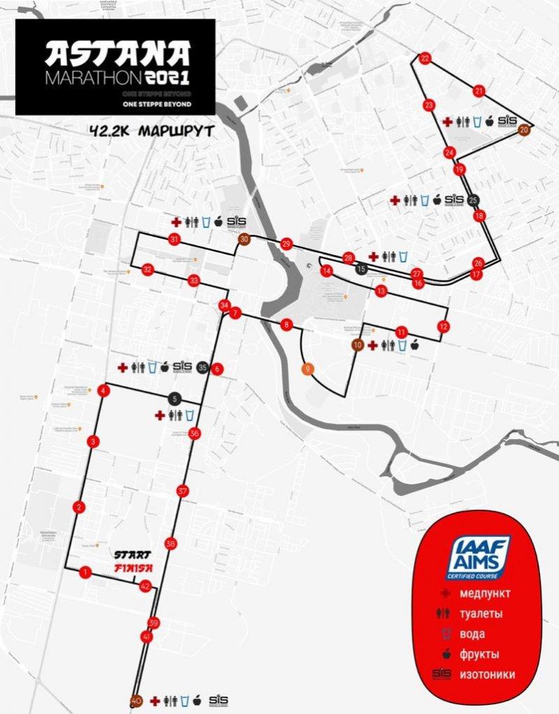 Astana Marathon 2021