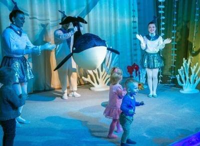 Спектакль «Поющий кит: подводные истории»,