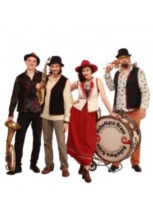 Город Джаз. Bubamara Brass Band. Балканские танцы. Концерт в оранжерее