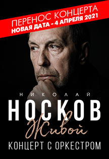 Николай Носков. Живой (г. Воронеж)