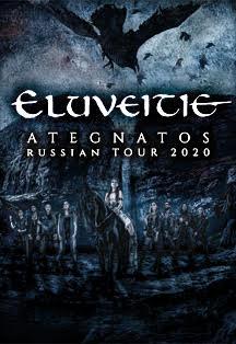 ELUVEITIE - ATEGNATOS RUSSIAN TOUR 2021