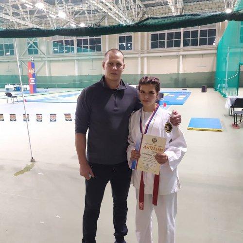 Воспитанница клуба «Корсар» стала серебряным призером Первенства России по рукопашному бою