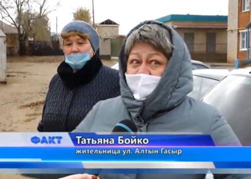 Актюбинцев, проживающих по ул. Алтын Гасыр, не устраивает новое местоположение мусорной площадки