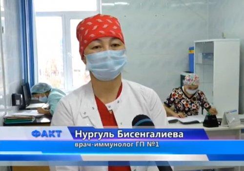Более ста тысяч актюбинцев уже провакцинированы