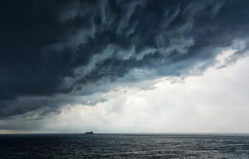 Аномальная погода на черноморском побережье