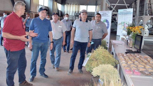 Лениногорский район посетил министр сельского хозяйства и продовольствия РТ Марат Зяббаров