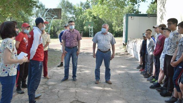 В Лениногорске рабочая группа проверила работу детских оздоровительных лагерей