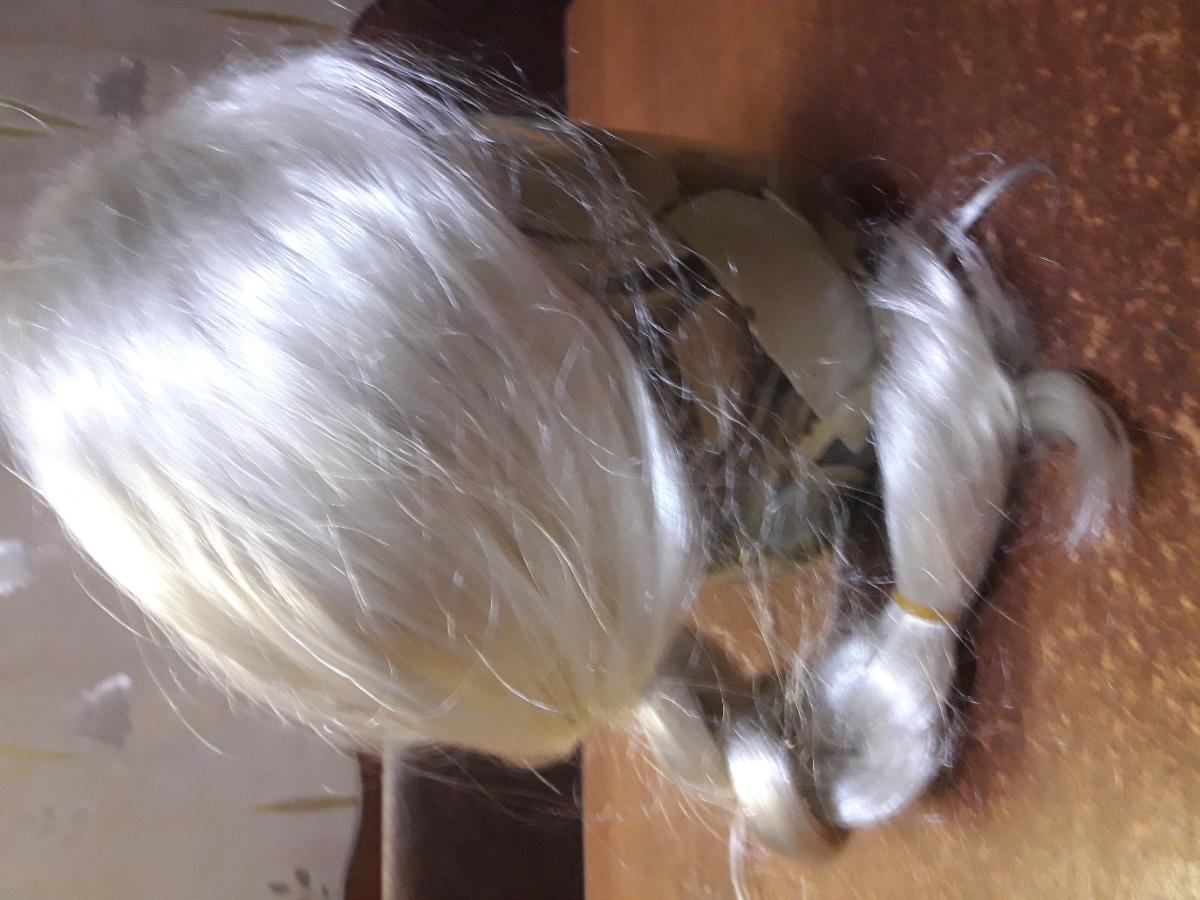 Карновальный костюм Эльзы с париком