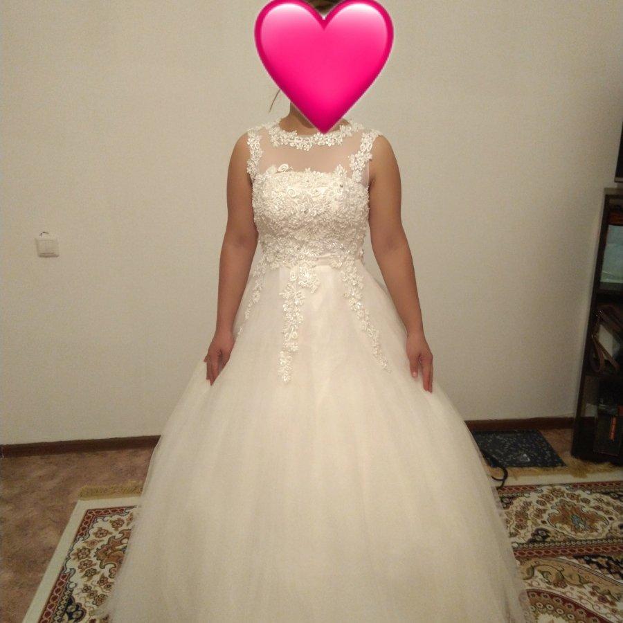 Продам свадебное платье и накидка для кыз узату.