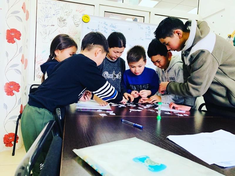 Our kids), Marty's language center, Талгар