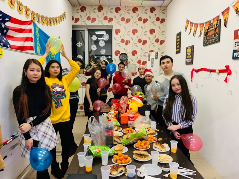 Come and Join Us!, Marty's language center, Талгар