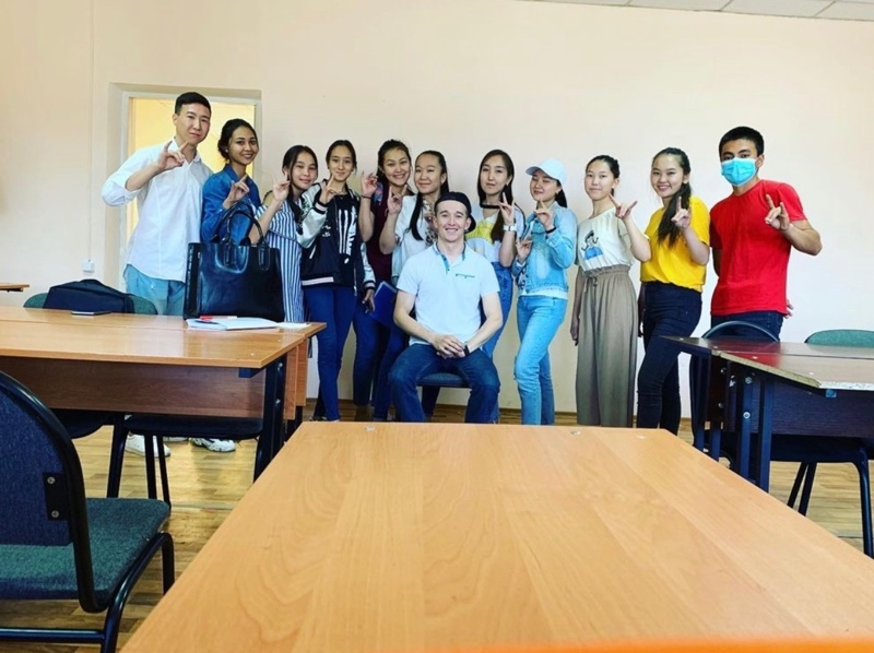 Our Amazers!, Marty's language center, Талгар