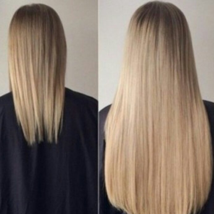 наращивания волос,