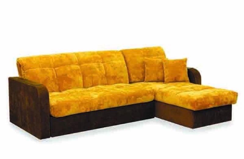 Угловой диван-кровать (аккордеон), мебельный магазин Лада, Лодейное Поле