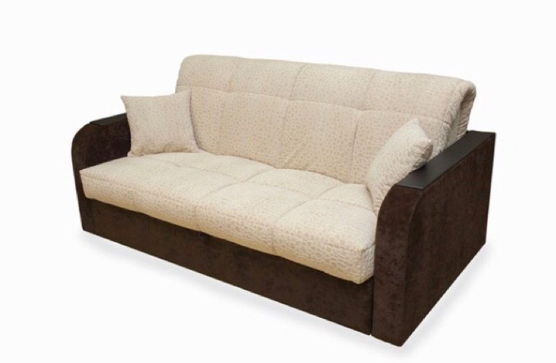 Диван-кровать аккордеон (металлокаркас), мебельный магазин Лада, Лодейное Поле