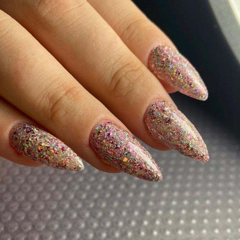Наращивание ногтей + покрытие гель-лак , KISS, Нижневартовск