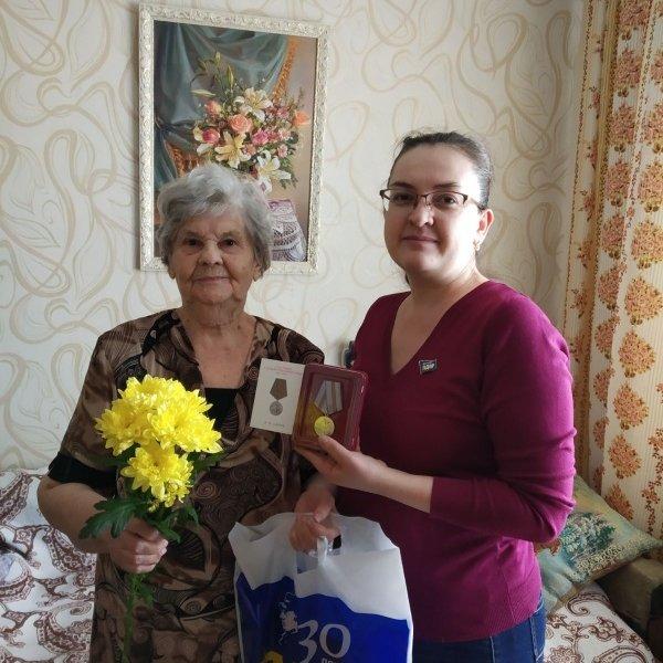 ЛДПР в Зауралье поздравили ветеранов , ЛДПР, Курган