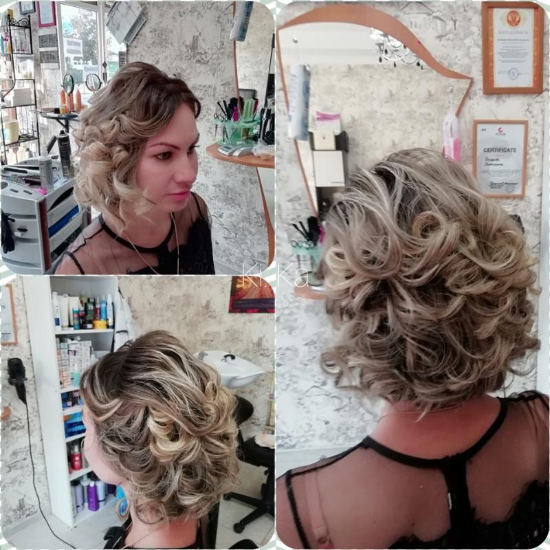 Укладка волос , Мечта, Анапа
