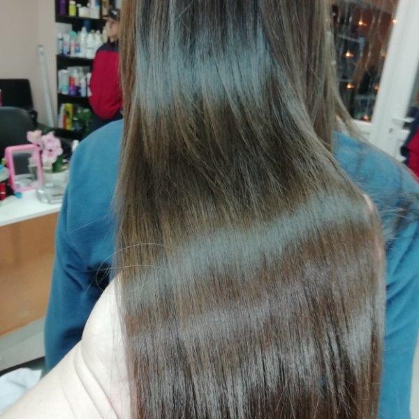 Нанопластика волос. , Мечта, Анапа