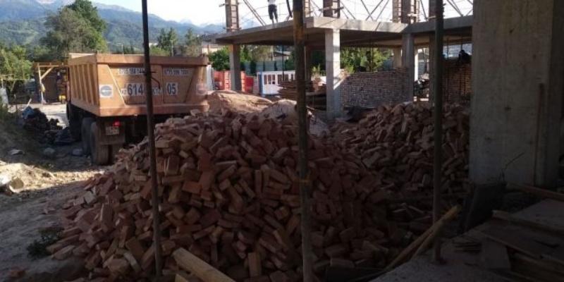 Строительный кирпич, Строй Двор, Талгар