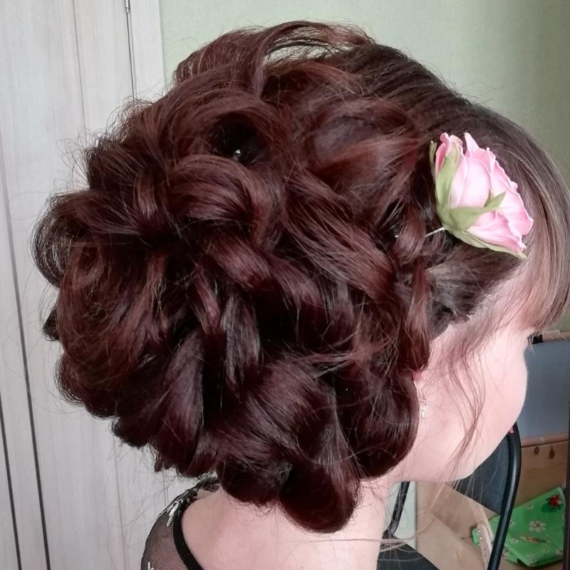 Прическа волос. Собранная. , Мечта, Анапа