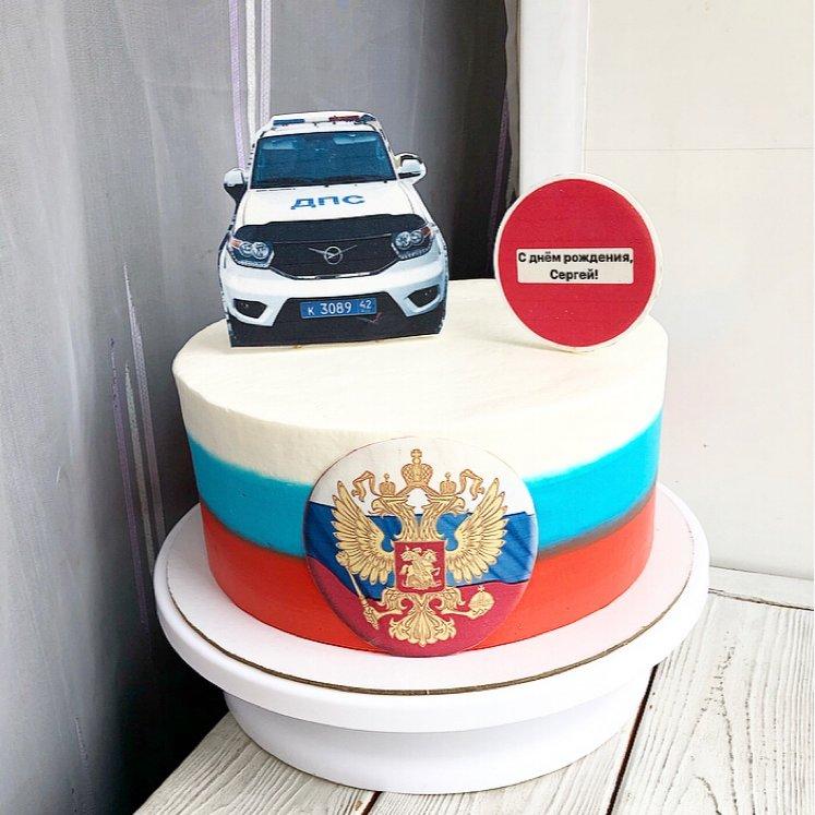 Торт для сотрудника ДПС ,