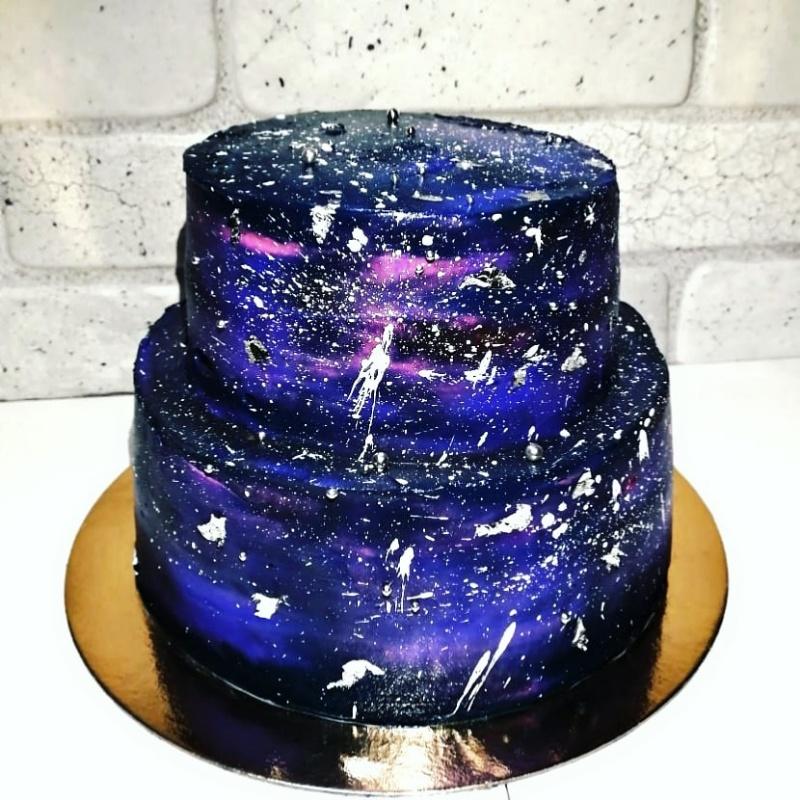 Космический торт, VikiCake, Россошь