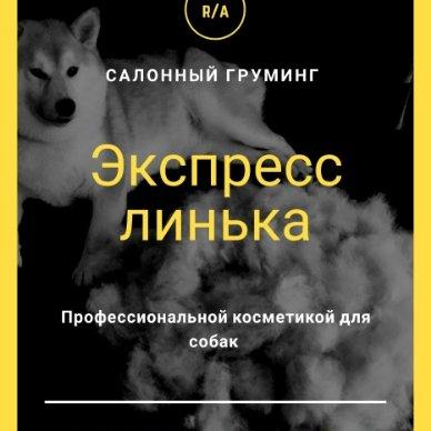 Экспресс линька для всех пород, 🔸Gold PAW🔸 стрижка собак и кошек