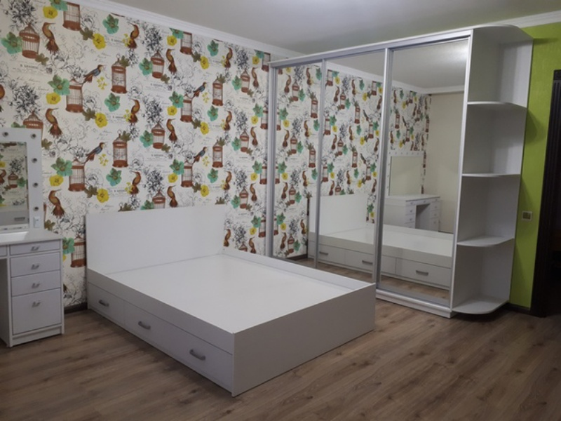 Спальный гарнитур в комплекте под заказ, Мебель на заказ Талгар, Талгар