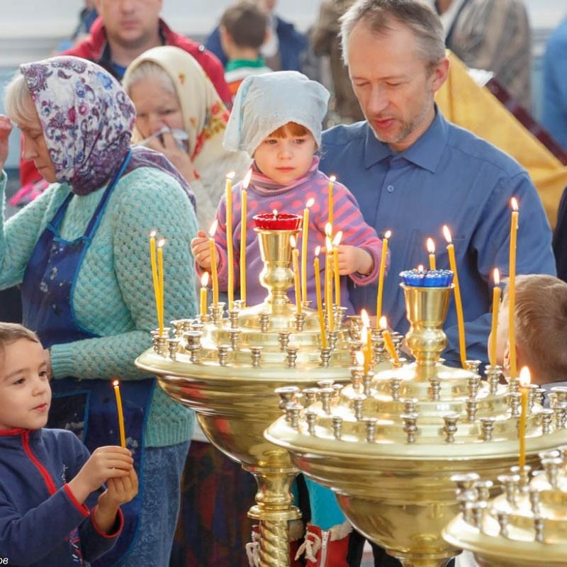 Братья и сестры!, Храм святого Елевферия Римского, Степногорск